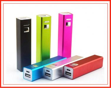 2015 Fashion Promotional 2600mah Portable Power Bank for cell phone