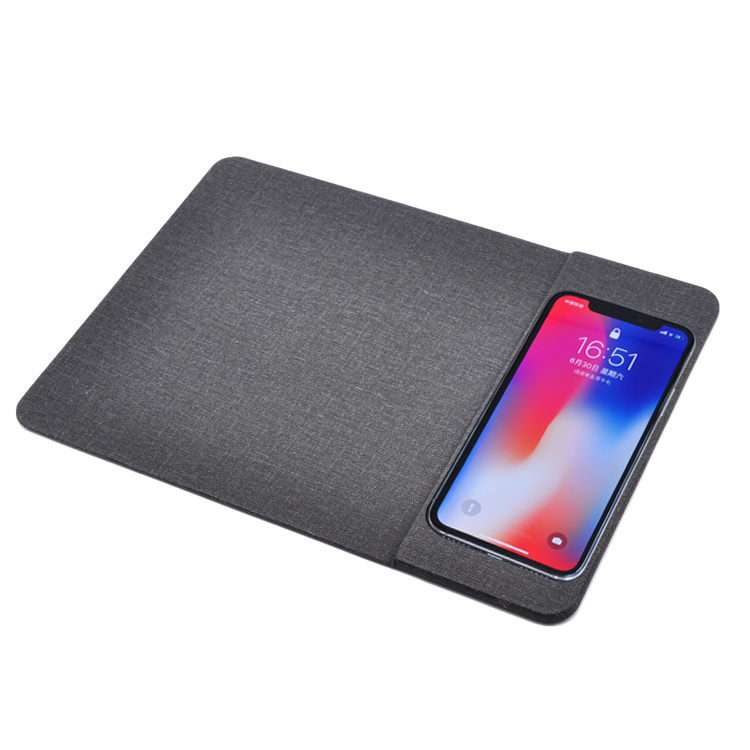 CAFERRIA new 2 in 1 qi fast charger wireless charging mouse pad