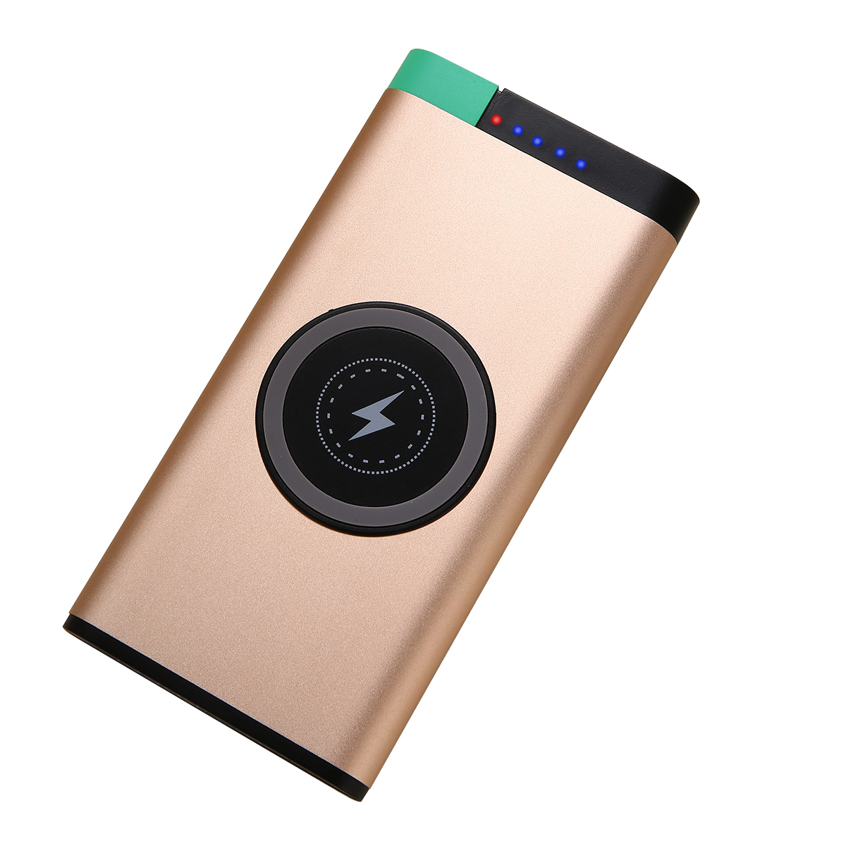 2 port usb fast charging latest wireless charger power bank 10000mah