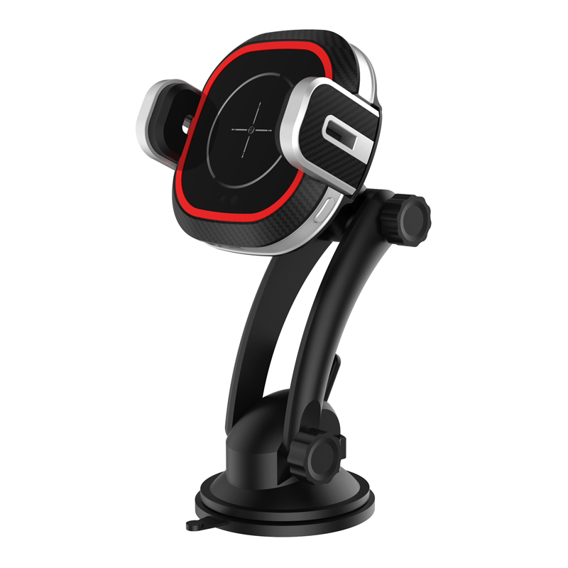 CASUN Infrared sensing wireless pone charger qi wireless car mount phone charger